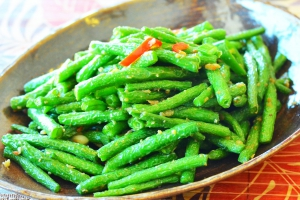 Stir Fried String Bean Szechwan Style